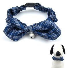 Alfie Pet by Petoga Couture - Anna Bow Collar with Bell (for Dogs and Cats) - Color: Blue >>> Click image for more details. (This is an affiliate link and I receive a commission for the sales)