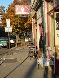 European Country Antiques on Huron Avenue in West Cambridge
