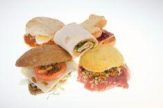 Mini-broodjes voor creatieve catering. Mogelijk vanaf 7,50 pp!