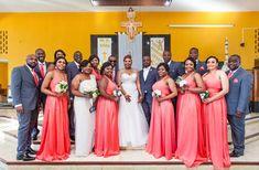 Bridesmaid Dresses, Wedding Dresses, Coral, Elegant, Fashion, Classy, Alon Livne Wedding Dresses, Fashion Styles, Moda