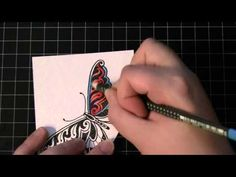 Penny Black and Jill Foster, PB Social Butterfly - YouTube
