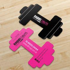Cartão de Visita Slim - Corte Especial - Neon Fit Pink