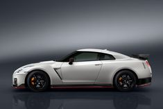 """Earlier this year, Nissan unveiled the refreshed 2017 Nissan GT-R. It came with a focus on the """"GT"""" part of GT-R: gran turismo. That new GT-R is more comfortable, smoother, and easier to drive. Nissan Gtr Nismo, Nissan Gt R, New Nissan, Nissan Sports Cars, Cool Sports Cars, Sport Cars, Nice Cars, Jdm Cars, Porsche Panamera"""