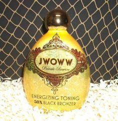 2012 Jwoww | Toning 50x Black Bronzer | Tanning Lotion | Australian Gold