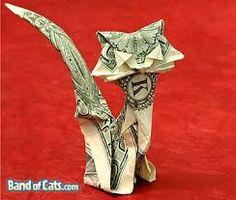 origami money - Pesquisa Google