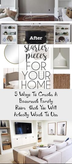 Order your room-inside-a-box, see inside at Postbox Designs, Interior E-Design: 5 Ways to Create a Basement Family Room You Will WANT to Use, Kid Hang-Out Space, Basement Family Room Ideas via Online Interior Design