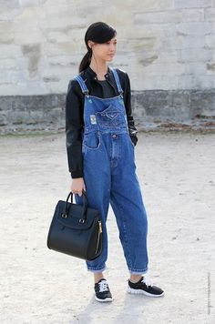 Dungarees.
