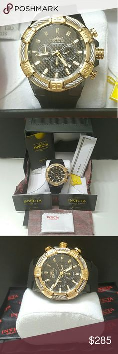 Wednesday sale,NEW INVICTA BOLT CARBON FIBER watch New Invicta Men's BOLT Black Carbon Fiber Dial Silver Cable Chronograph Stainless Steel Strap Watch   Brand New In Invicta Box.    Firm price  $399.00 . AUTHENTIC WATCH  . AUTHENTIC BOX  . AUTHENTIC MANUAL    SHIPPING  PLEASE ALLOW 1-3 BUSINESS DAYS FOR ME TO SHIPPED IT OFF.I HAVE TO GET IT FROM MY STORE.   THANK YOU FOR YOUR UNDERSTANDING. Invicta Accessories Watches