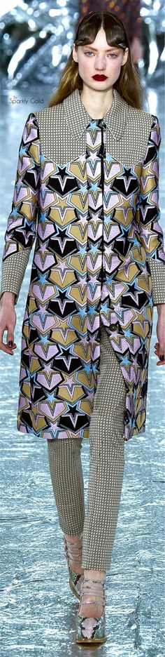 Stellar Collection | Mary Katrantzou Fall 2016 RTW