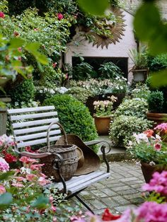 flower pots and basket ideas :)like the idea of potted option, move around...:-)