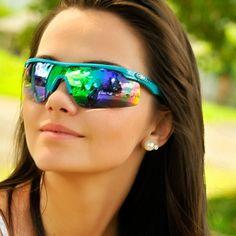 41c4fd719 Óculos Mormaii Athlon Grilamid Médio Turquesa com Cinza Espelhado Unissex