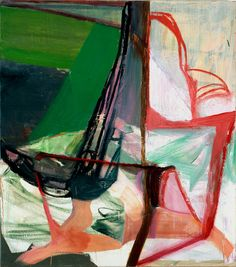 Amy Sillman, Big Girl, 2006. Oil on canvas, 72 x 80 inches. © Amy Sillman. Courtesy Sikkema Jenkins & Co, NY.