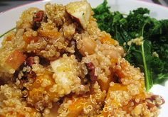 This recipe for quinoa makes my mouth water!!