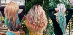 Safe to use, easy to apply and awesome to look at. Watercolor hair accessories are🔥 Watercolour Hair, That Look, Hair Accessories, Dreadlocks, How To Apply, Long Hair Styles, Awesome, Easy, Products