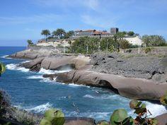 Costa Adeje - Tenerife - Tabo proposed to me on this rock.... Ahhhhh xxx