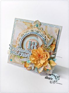 18th Birthday Cards, Mix Media, Cardmaking, Scrapbooking, How To Make, Handmade, Top, Cards, Accessories