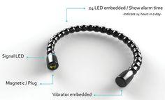 VAM Alarm Bracelet by Yi-Hong Chou  #watch #alarm #bracelet  #lynnfriedman