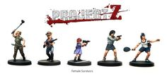 The 'Female Survivors' expansion set contains 10 female survivors plus the weapons options sprue for more variety.