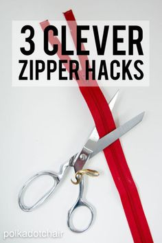 I know that the thought of sewing a zipper strikes fear into the hearts of many seamstresses, but there is no reason to be afraid. Zippers are actually quite easy to sew once you know a few simple tricks....
