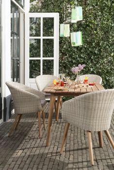 """Nieuwe moderne tuinsets voor mooie prijzen gespot bij Leen Bakker en Blokker. Dit is de set """"Porto"""""""