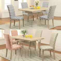the carey dining set features an antique natural oak color made of