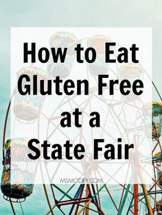 When you think of going to a Sate/County Fair, food is probably the first thing that comes to mind. Now days they fry anything you can think of! For people on a gluten free diet, it may seem like y… Best Gluten Free Recipes, Gluten Free Diet, Real Food Recipes, Gf Recipes, Tomato Allergy, State Fair Food, Gluten Free Restaurants, Free Friends, Gluten Free Living