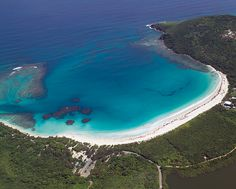 Flamenco beach, Puerto Rico No passport. Ranked #2 most beautiful beach in the world. Day trip from San Juan.