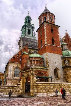 Wawel Castle, Krakow, Poland | grandma bistas homeland | want to go