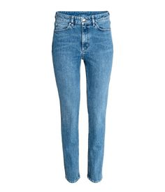 Slim High Waist Jeans | Deniminsininen | Naiset | H&M FI