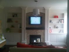 In LOVE with this wall unit!