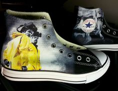 Breaking Bad Custom Converse All Stars by ArkhamKicks on Etsy, $85.00