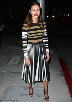 Thrifty fashionista: While the Sucker Punch star is always on-point in the style stakes wh...