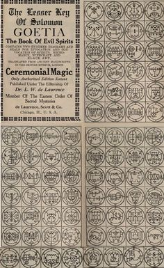 Arthur Pittsley is raising funds for 80 Solid metal Goetia coins All 72 Lesser Key Solomon Demons on Kickstarter! Complete set of Lesser Key of Solomon coins -- All 80 Demon seals of the Ars Goetia -- Demonology sigil tokens -- solid metal Demon Symbols, Alchemy Symbols, Magic Symbols, Ancient Alphabets, Ancient Symbols, Necronomicon Lovecraft, King Solomon Seals, Sigil Magic, Solomons Seal