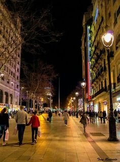 Portal de l'Àngel. Barcelona...