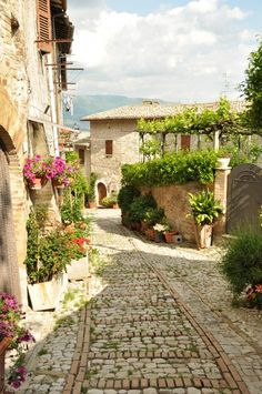 Montefalco, province of Perugia, Umbria, Italy. For luxury hotels in Umbria visit http://www.mediteranique.com/hotels-italy/umbria/