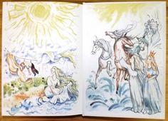 Jekaterа Ljubimovа: Dobrodružstvá Nikity a jeho priateľov (zadná predsádka, ilustrácie Mária Ždan)