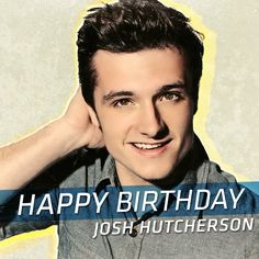 Happy birthday to The Hunger Games: #Mockingjay Part 1's Josh Hutcherson! Wish Peeta a happy birthday in the comments below!
