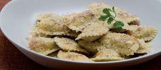 Cucinare che Passione: Ravioli di spinaci alla tirolese