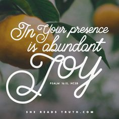 "Joy | Exercises of gratitude for things of this world cannot produce because joy is not a fruit of our work/circumstances/ourselves. Joy is a fruit of God's Spirit. It is a manifestation of who He is, a result of the power of Christ in us. We are commanded to ""rejoice,"" ""be joyful"" and consider trials as ""pure joy."" Because Jesus is always worthy of rejoicing. If we label our lives as joyless, it is due to our misplaced hope/ pleasure in things of the world rather than the joy of our…"