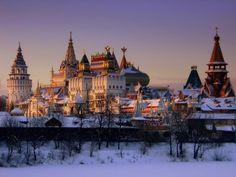 Москва. Измайловский Кремль #Красоты_России #КрасотыРоссии