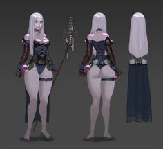 ArtStation - Character concept, ~ Shadow ~