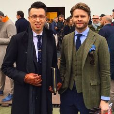 """""""Great getting to know @blakescott_ at Pitti!"""""""