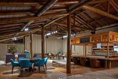 Decoração de casas de luxo - Galpão amplo com cozinha gourmet