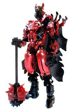 Dark knight Bionicle Heroes, Lego Bionicle, Cool Lego, Cool Toys, Lego Knights, Lego Pictures, Lego Robot, Lego Mechs, Hero Factory
