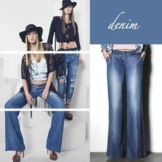 Aunque los pantalones bota ancha surgen en los años 70, siguen siendo la prenda perfecta para la mujer de hoy en cualquier ocasión. #Style