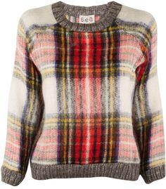 Sea Plaid Pullover on shopstyle.com
