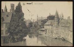 Bruges, 'Rozenhoedkaai' WWI