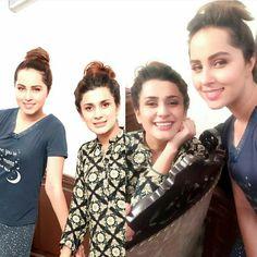 Beautiful Girls Nimra Khan and Kubra Khan Shooting for their upcoming Drama Serial! #NimraKhan #KubraKhan #PakistaniActresses #PakistaniCelebrities