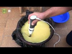 Fabricación de jabón casero y líquido - YouTube fácil y cómo cortarlo medidas del molde y todo