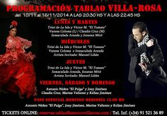 TABLAO VILLA ROSA: FLAMENCO MADRID: FLAMENCO MADRID VILLA-ROSA: ARTISTAS DEL 10 AL 16 ...